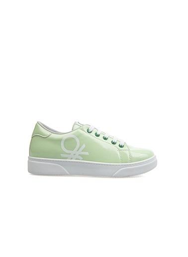 Benetton Bn30111  Kadın Spor Ayakkabı Yeşil